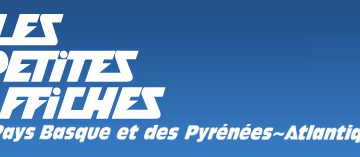 logo les petites affiches du pays basques et des Pyrénées-Atlantiques